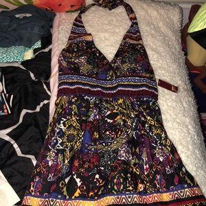 Dresses & Skirts - Multicolored halter dress